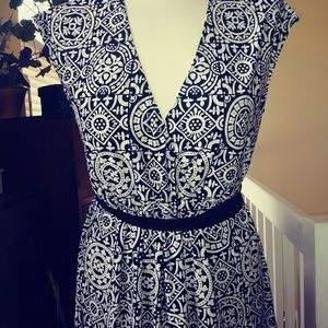 Merona print spring dress.